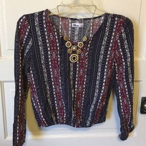Other - Like new teen peasant bell sleeves top